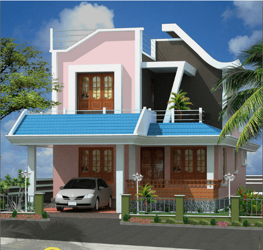 1431 Square Feet 3BHK Kerala Home Design
