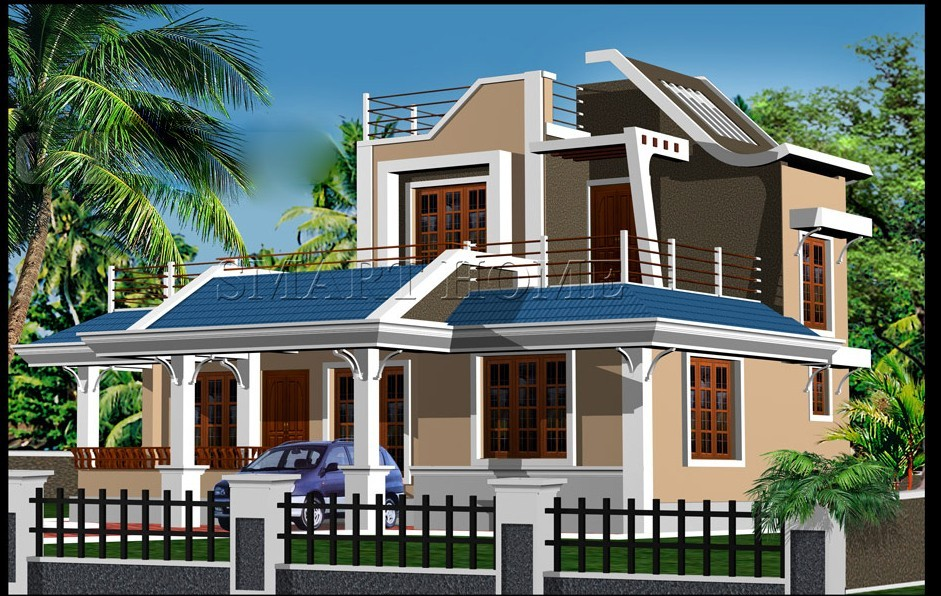 1800 Square Feet New Modern Kerala House Design With Plan Home Pictures