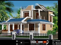 1800 Square Feet New Modern Kerala House Design With Plan