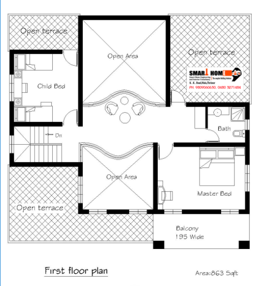 1948 Square Feet 4BHK Kerala Home Design With Plan