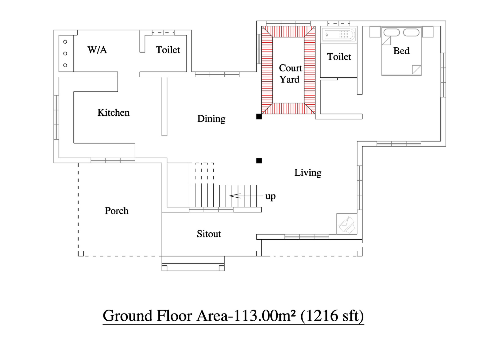 2000 Square Feet 3BHK Kerala Home Design