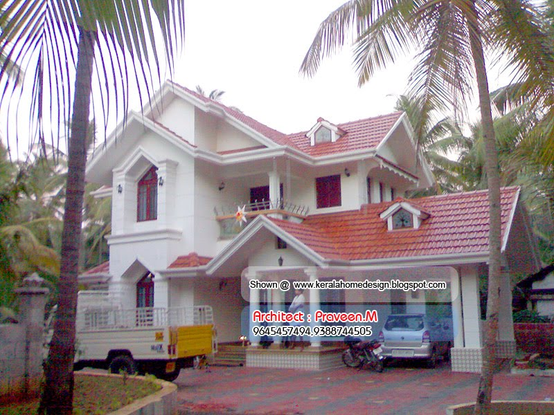 Photo of 2001 Square Feet 3BHK Kerala Home Design With Plan