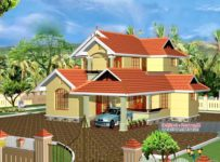 2033 Square Feet 5BHK Kerala Beautiful Home Design With Plan