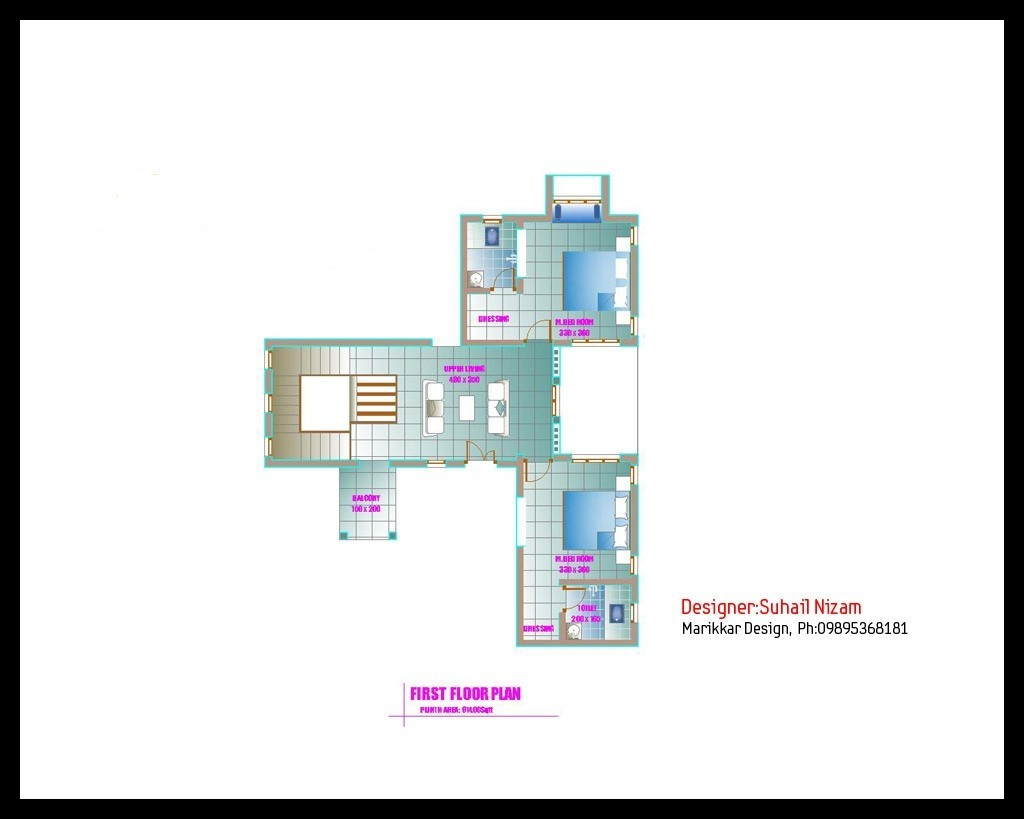 Modern Kerala House Design 2016 At 2980 Sq Ft: 2678-square-feet-4bhk-kerala-modern-new-home-design-with