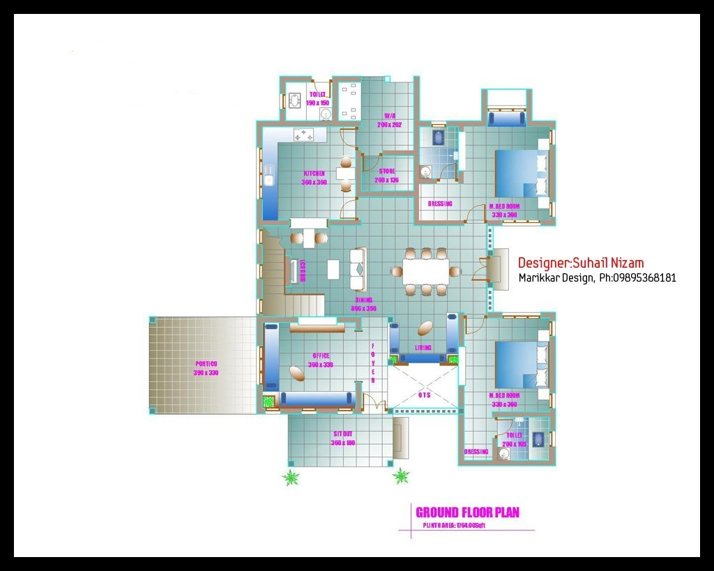 2678 Square Feet 4BHK Kerala Modern New Home Design With Plan