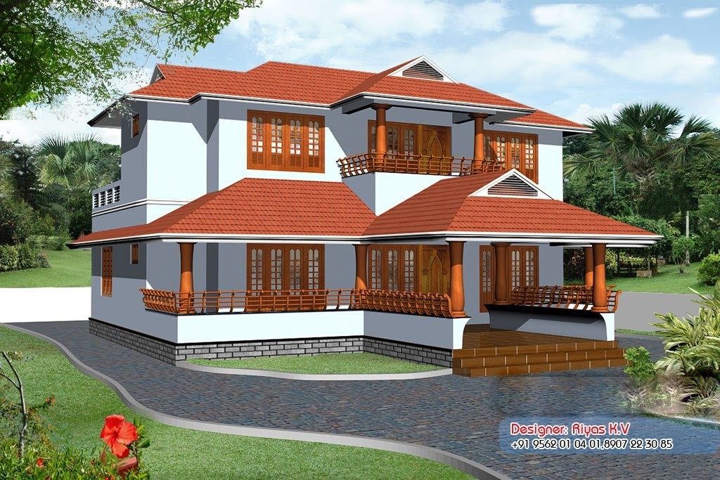 2726 Square Feet 4BHK Kerala Home Design With Plan