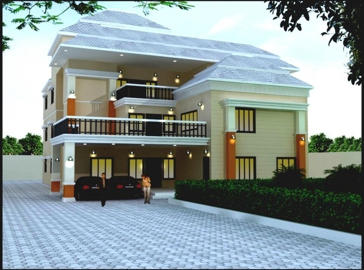 Marvelous 2762 Square Feet 5BHK Luxury Kerala Modern Home Design Awesome Ideas
