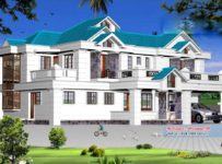 2800 Square Feet 4BHK Kerala Luxury Home Design With Plan