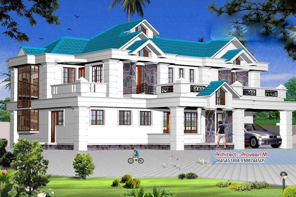 Photo of 2800 Square Feet 4BHK Kerala Luxury Home Design With Plan