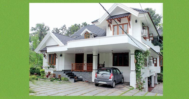 2900 Square Feet Double Floor Kerala Home Design