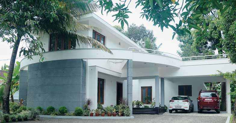 3000 square feet simple humble kerala home design cost 60 for 3000 sq ft house cost