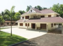 3450 Square Feet 5BHK NRI Kerala Home Design At Kanjirappilly