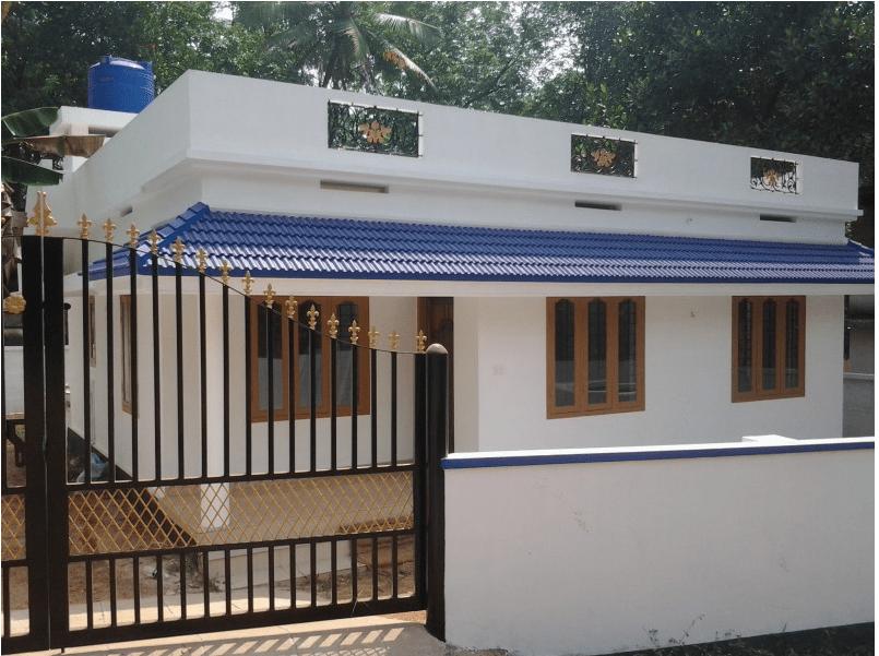 Photo of 800 Square Feet 3BHK Kerala Cute House Design