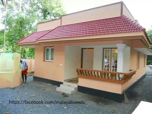 882 Square Feet 3BHK Beautiful Cute Kerala Home Design