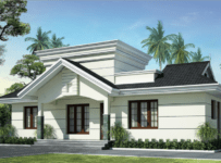 991 Square Feet 2BHK Kerala Low Budget Home Design With Plan
