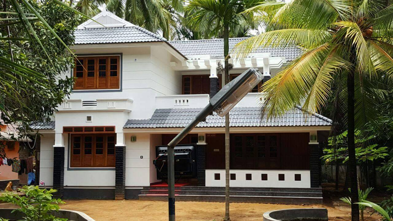 Photo of Amazing Kerala Home Design At Edakkazhiyoor,Chavakkad