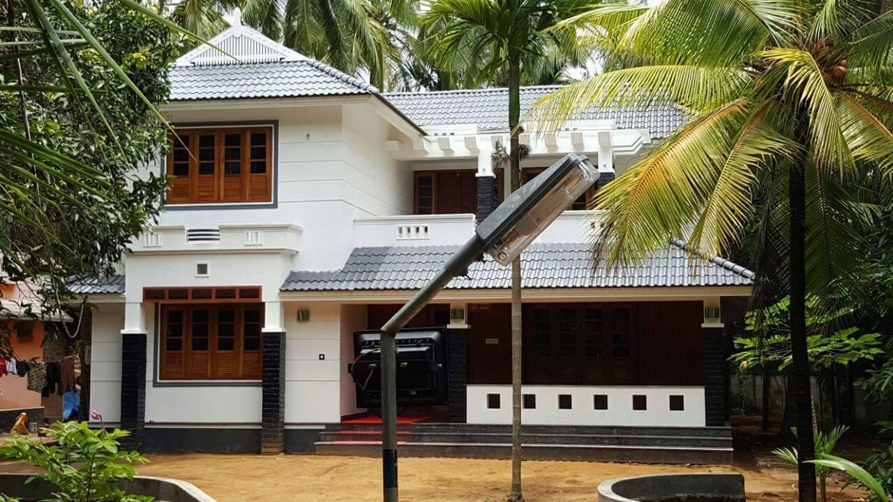 Photo of Amazing Kerala Home Design At Edakkazhiyoor,Chavakkad