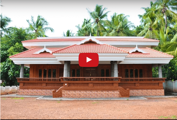 2000 Square Feet 3BHK Kerala Home Design At 25 Cent Plot at Thrisuur