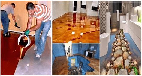 Photo of 3D epoxy floor thrilling – eye-catcher of the interior design