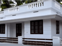 800 Square Feet Kerala Low Budget Home And 5 Cent Plot For Sale at Angamaly