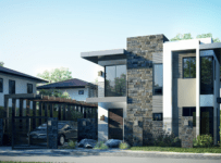 Double Floor New Modern House Design With Plan