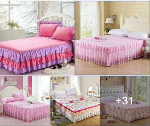 Photo of Your Bed with Beautiful Bed Skirts