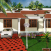 1320 Square Feet 3BHK Low Budget Kerala Home Design And Plan