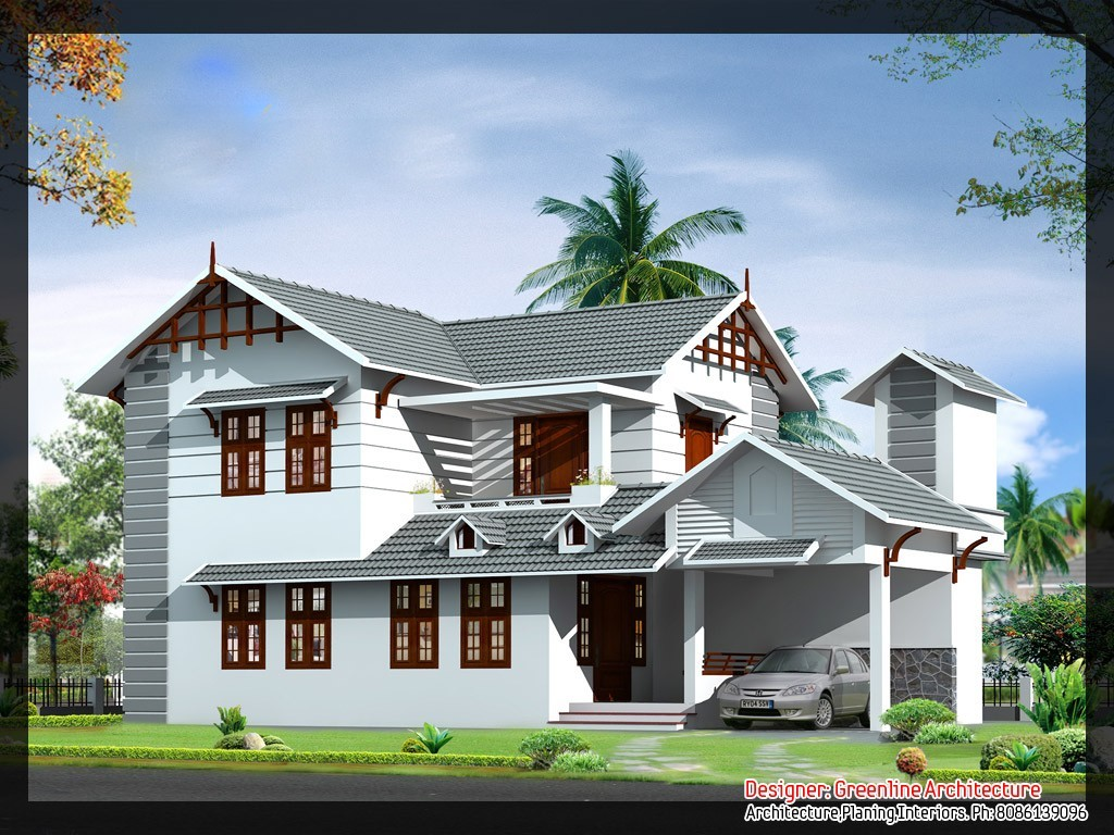 1839 Square Feet 4BHK Kerala Contemporary Home Design With Plan