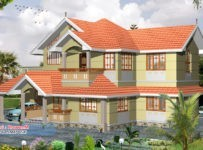 2055 Square Feet 3BHK Kerala Home Design With Plan
