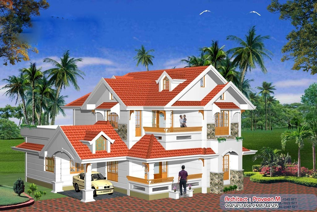 2367 Square Feet 4BHK Kerala Home Design With Plan