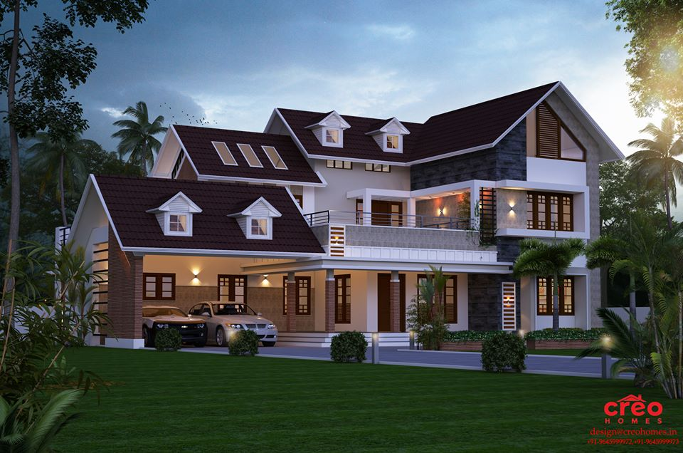3565 Square Feet 4 Bedroom New Modern Amazing Home Design