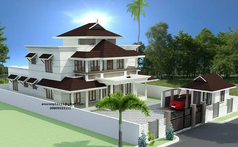 3600 Square Feet 4 Bedroom Amazing Modern Home Design Home Pictures