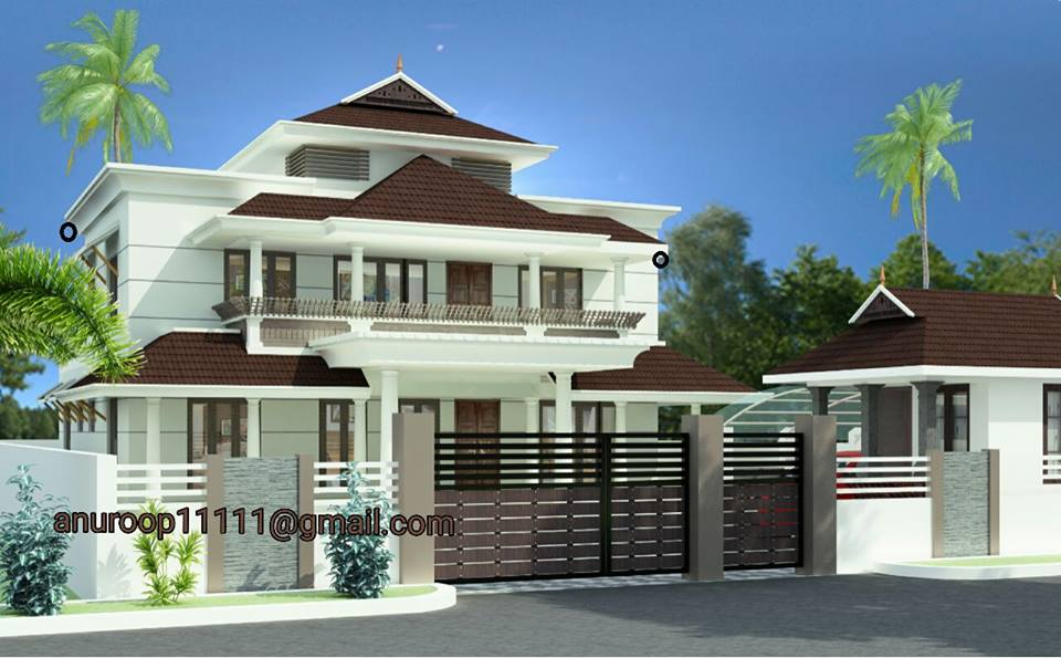 3600 square feet 4 bedroom amazing modern home design