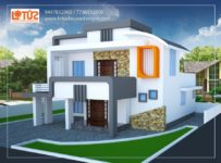 2000 Square Feet 4 Bedroom Beautiful Double Floor Home Design For 35 Lacks
