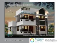 2037 Square Feet 3 Bedroom Amazing Modern Home Design and Plan