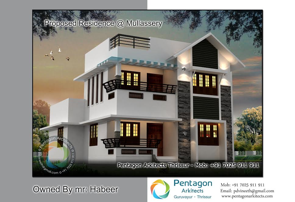 Photo of 2037 Square Feet 3 Bedroom Amazing Modern Home Design and Plan