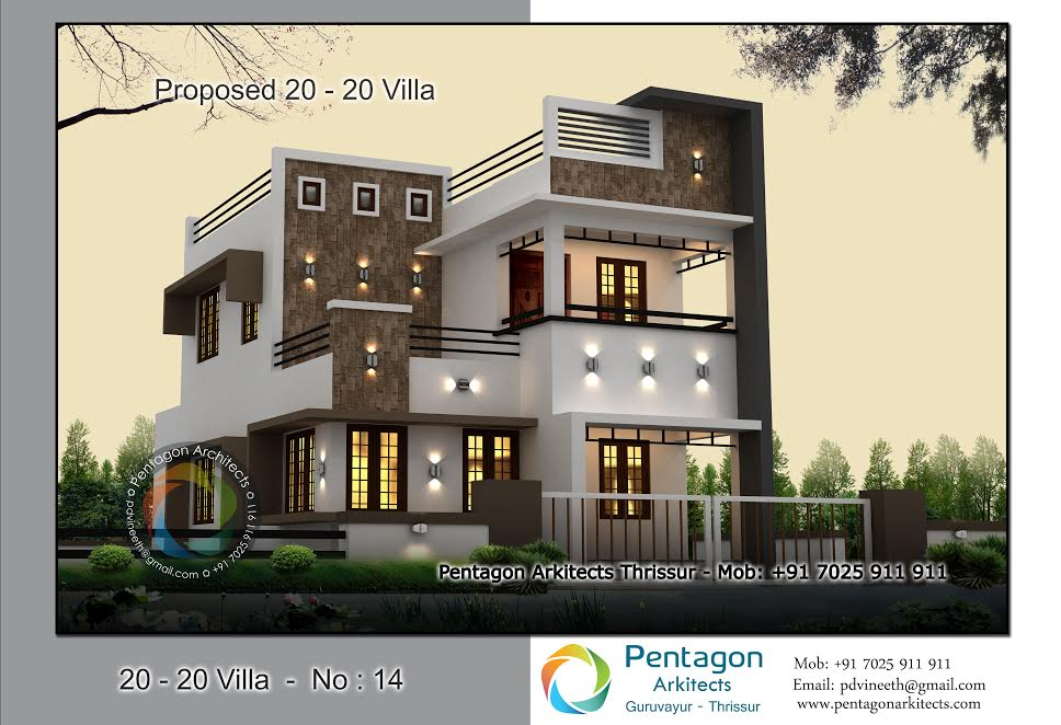 3-BED ROOM CONTEMPORARY HOME Part - 22: 1618 Square Feet 3 Bedroom Contemporary Style Modern Home Design And Plan