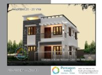 1382 Square Feet 3 Bedroom Low Budget Contemporary Modern Home Design and Plan