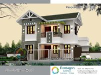 1533 Square Feet 4 Bedroom Modern Contemporary Home Design and Plan