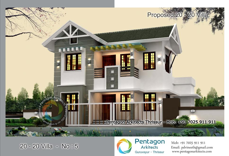 Photo of 1533 Square Feet 4 Bedroom Modern Contemporary Home Design and Plan