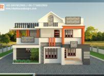 2655 Square Feet 5 Bedroom Amazing Modern Home Design