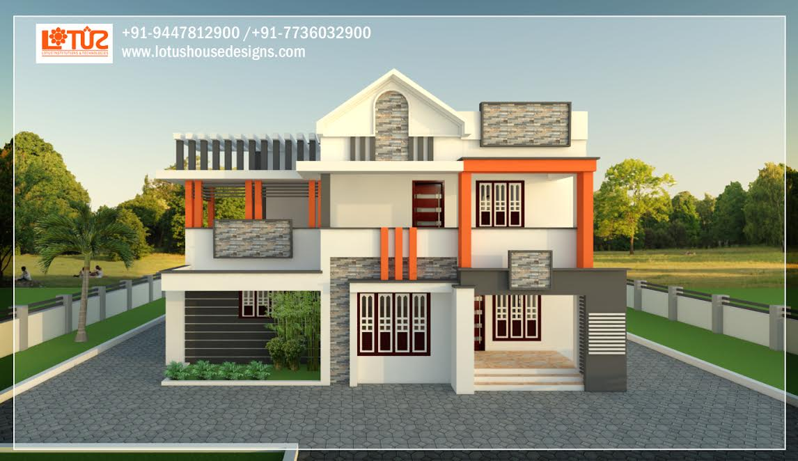2655 Square Feet 5 Bedroom Amazing Modern Home Design