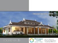 2656 Square Feet 3 Attached Bedroom Single Floor Home Design and Plan