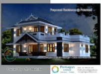 3065 Square Feet 5 Bedroom Modern Home Design and Plan
