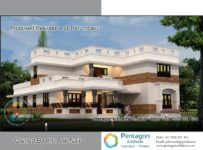 2900 Square Feet 4 Bedroom Double Floor Modern Home Design and Plan