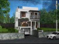 1829 Square Feet 3 Bedroom Contemporary Modern Home Design and Plan
