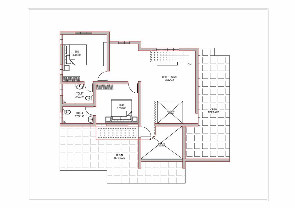3000 Square Feet 4 Bedroom Amazing Modern Home Design and Elevation