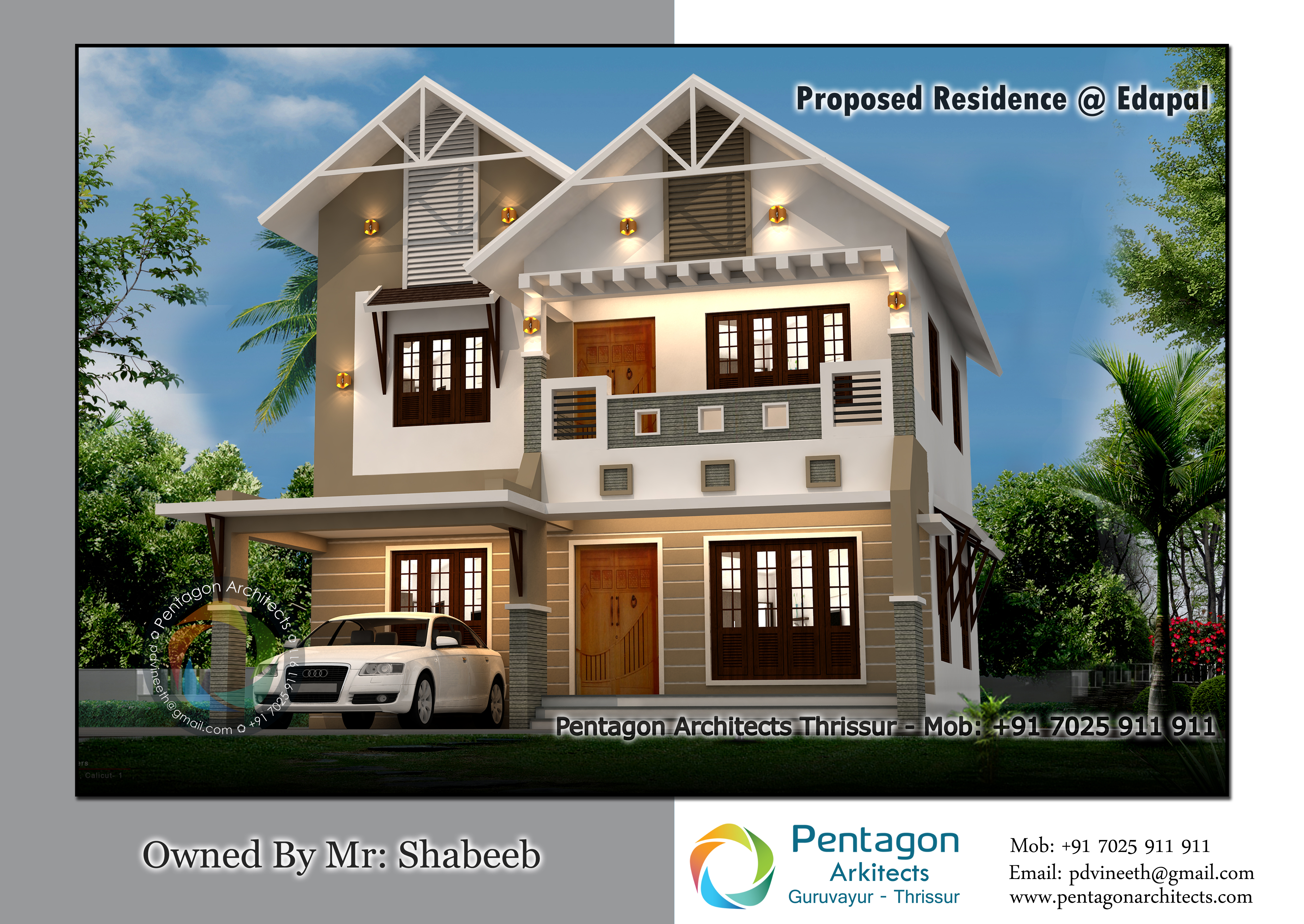Photo of 1770 Square Feet 3 Bedroom Double Floor Modern Home Design and Plan