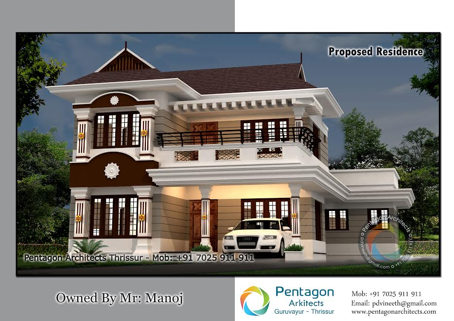 2200 Square Feet 4 Bedroom Amazing Modern Home Design and Plan