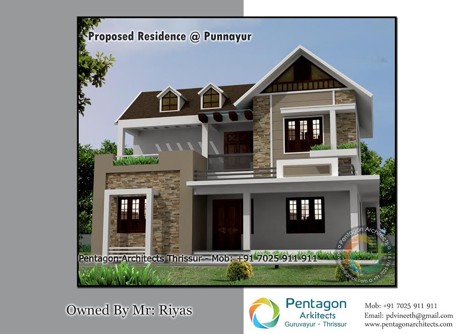 2000 Square Feet 3 Bedroom Modern Amazing Home Design and Plan